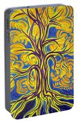 Tree Of Happiness Portable Battery Charger