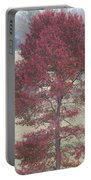 Tree Of Red Portable Battery Charger