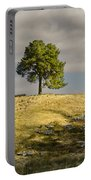 Tree On A Hill Vertical Portable Battery Charger