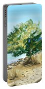 Tree On The Beach Portable Battery Charger