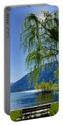 Tree On The Lakefront Portable Battery Charger