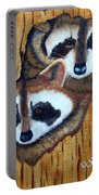 Tree Raccoons Portable Battery Charger