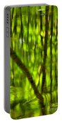 Tree Reflections Portable Battery Charger by Adam Jewell