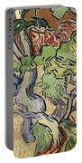 Tree Roots Portable Battery Charger by Vincent Van Gogh