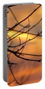 Trees Ablaze In Autumn Portable Battery Charger