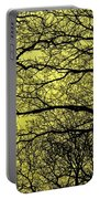 Trees Abstarct Yellow Portable Battery Charger