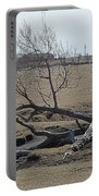 Trees And Early Spring Creek Portable Battery Charger