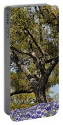 Trees And Flowers Portable Battery Charger
