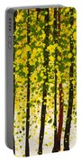 Trees At Twilight Xviii Portable Battery Charger