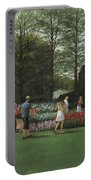 St. Louis Botanical Garden Trees Portable Battery Charger