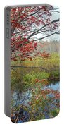 Trees In A Forest, Damariscotta Portable Battery Charger