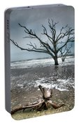 Trees In Surf Portable Battery Charger