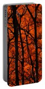 Trees Of Autumn Portable Battery Charger
