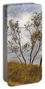 Trees Of The Beach Portable Battery Charger