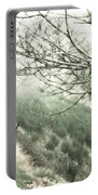 Trees On A Mountain Portable Battery Charger