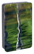 Trees Reflections On The River Portable Battery Charger