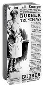 Trench Coat, 1917 Portable Battery Charger