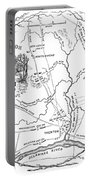 Trenton Map, 1777 Portable Battery Charger