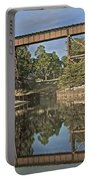 Trestle Over Reflecting Water Portable Battery Charger
