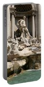 Trevi Fountain In Rome Italy Portable Battery Charger