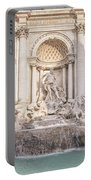 Trevi Fountain Rome Portable Battery Charger