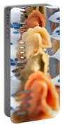 Tri Color Tortellini In Row Portable Battery Charger