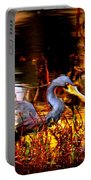 Tri Colored Heron - Reflection Portable Battery Charger