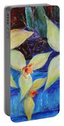 Triangular Blossom Portable Battery Charger