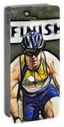 Triathalon Competitor Portable Battery Charger