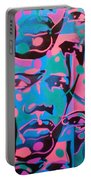 Tribal Graffiti Faces Portable Battery Charger