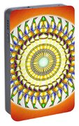 Tribal Magnetism Portable Battery Charger by Derek Gedney