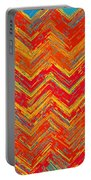 Tribal Pattern 019 Portable Battery Charger