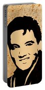 Tribute To Elvis Presley Portable Battery Charger