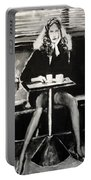 Tribute To Helmut Newton Portable Battery Charger