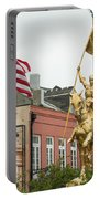New Orleans Tribute To Joan Of Arc Portable Battery Charger
