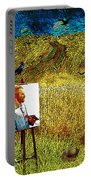 Tribute To Vincent Van Gogh - His Final Days Portable Battery Charger
