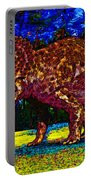 Triceratops Painting Portable Battery Charger