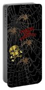 Trick Or Treat Halloween Digital Artwork Portable Battery Charger