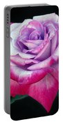 Tricolor Rose Portable Battery Charger
