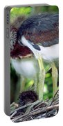 Tricolored Heron Nestlings Portable Battery Charger
