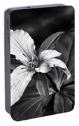Trillium - Black And White Portable Battery Charger