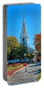 Trinity Church In Queen Anne Square In Newport Portable Battery Charger