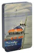 Trinity Long Line Fishing Trawler At San Remo  Portable Battery Charger