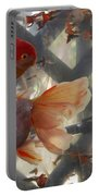 Triple Tail Goldfish Portable Battery Charger
