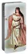 Tristan And Isolde, 1865 Portable Battery Charger