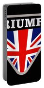 Triumph Emblem Portable Battery Charger