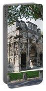 Triumphal Arch - Orange Provence Portable Battery Charger