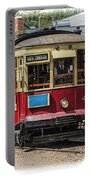 Trolley Car At The Fort Edmonton Park Portable Battery Charger