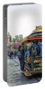 Trolley Car Main Street Disneyland 01 Portable Battery Charger