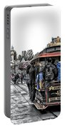 Trolley Car Main Street Disneyland Sc Portable Battery Charger